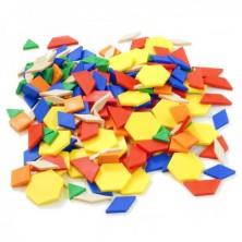 Bloques geométricos 250 pcs Bote