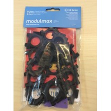 Modulmax 18 pzs negras