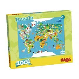 Puzzle Mapa del mundo