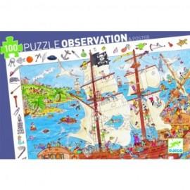 Puzle observación Piratas
