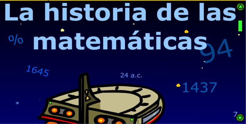La Historia De Las Matematicas En Comic Interactivo
