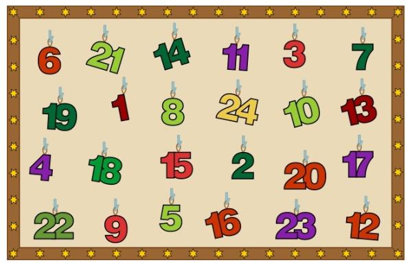 Calendario De Adviento Matematico Aprendiendo Matematicas