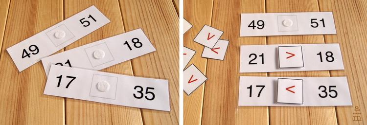 Cómo Introducir Los Signos Mayor Que Menor Que E Igual Aprendiendo Matemáticas