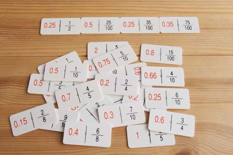 decimales dominos