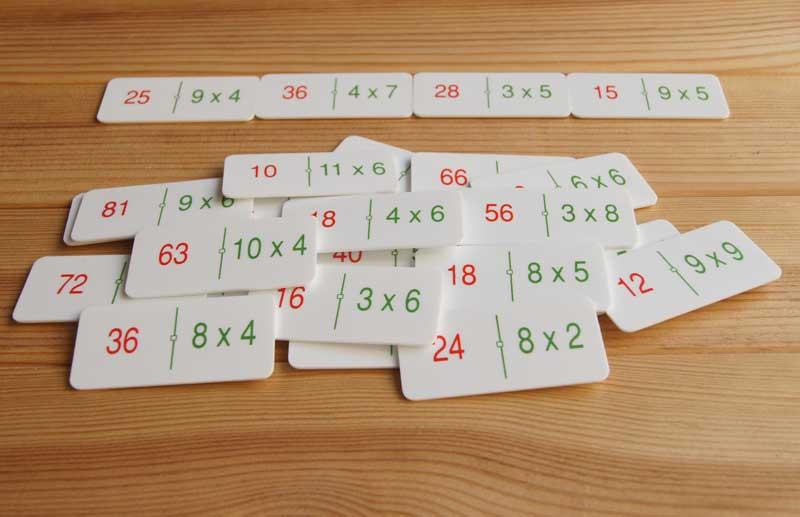9f9b7331e Actividades matemáticas con un dominó - Aprendiendo matemáticas