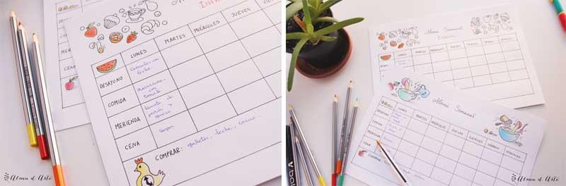 10 Imprimibles Para Planificar Y Organizar El Curso Escolar