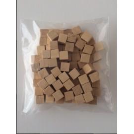 Regletas unidad de madera natural