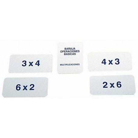Baraja Multiplicaciones
