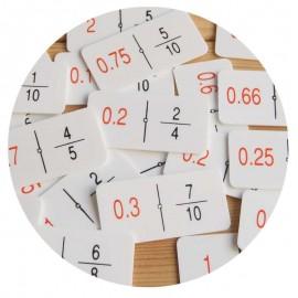 Dominó Fracciones (decimales)