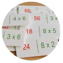 Dominó multiplicaciones