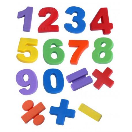 Números magnéticos 68 piezas