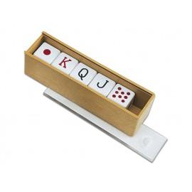 Juego de 5 dados de Póker