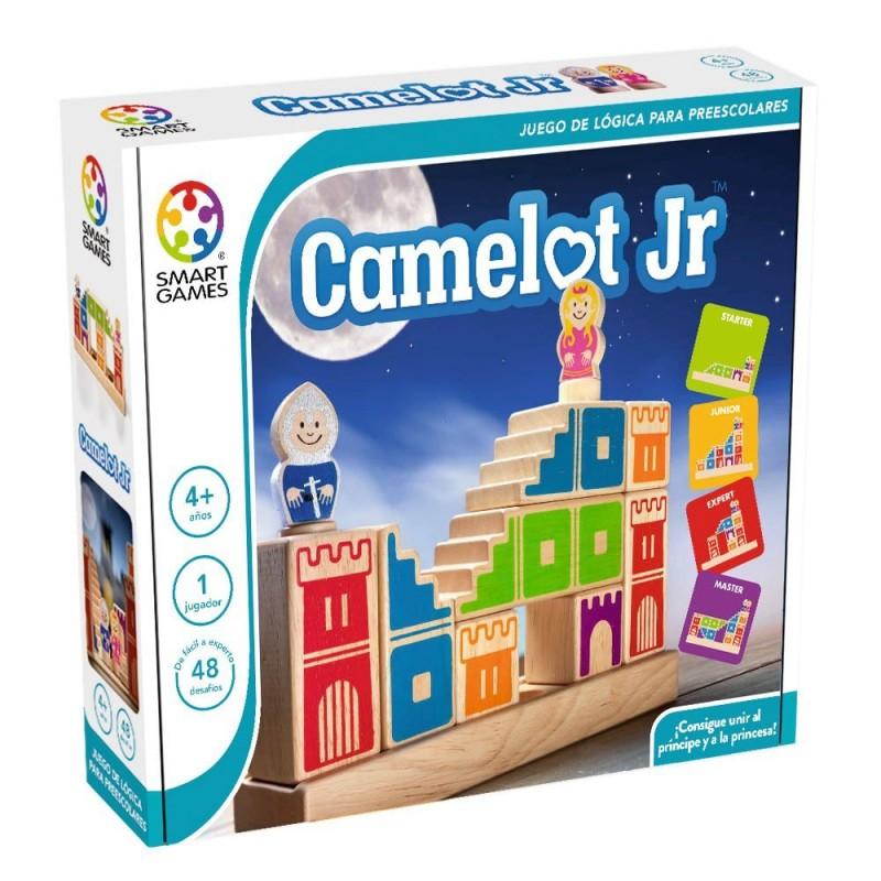 Juego De Logica De Madera Camelot Jr De Smartgames