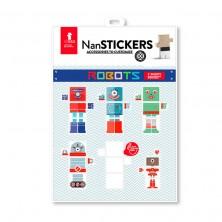 Nan stickers Robots - Pegatinas para Nans