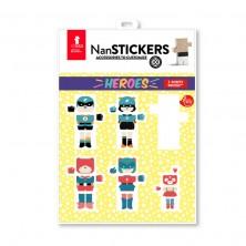 Nan stickers Heroes (Pegatinas para los Nans)