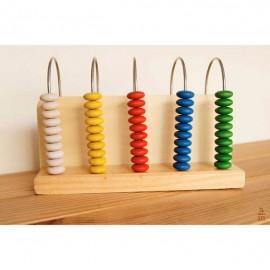 Ábaco vertical Montessori