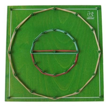 Geoplano circular