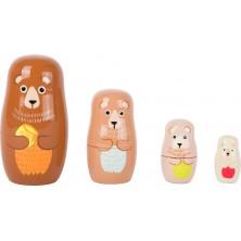Matrioskas familia de osos