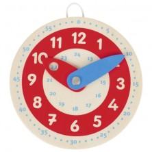 Reloj de madera d. 10cm