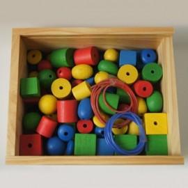 Ensartables 50 piezas