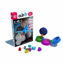 CLIP IT - Caja mixta de 90 clips, 30 2D y 60 3D
