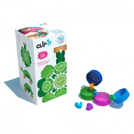 Caja de 400 clips 3D