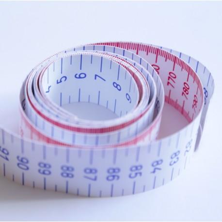 Cinta métrica de 1 mt (10 ud)