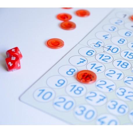 Juego con la tabla de multiplicar