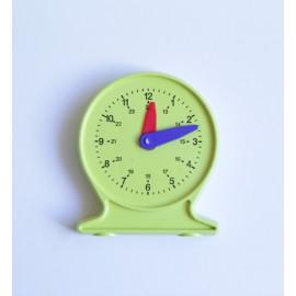 Reloj de plástico de 11 cm de diámetro