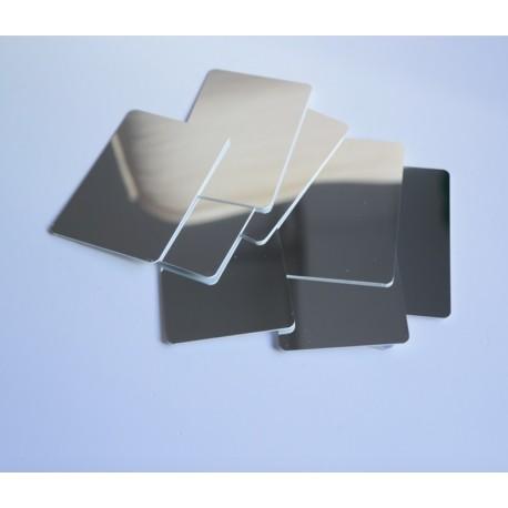 Conjunto de 10 espejos de 150 x 100 x 1'5 mm