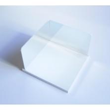 Conjunto de 2 espejos de 150 x 100 x 1,5 mm con soporte y propuestas