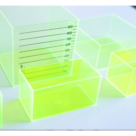 Conjunto de 6 prismas medidores
