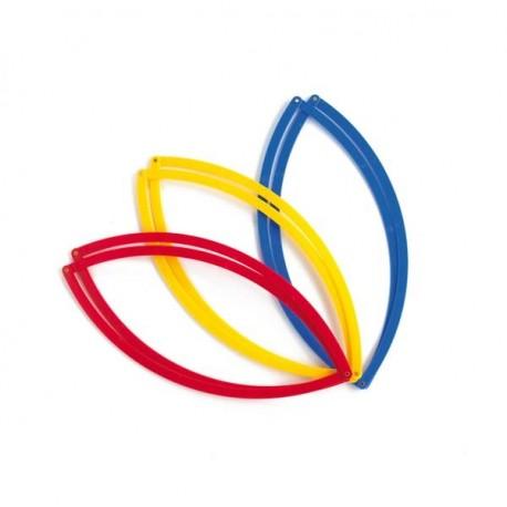 Aros plegables de 500 mm (conjunto de 6)