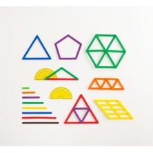 Geostix - Set de construcción y geometría con varillas