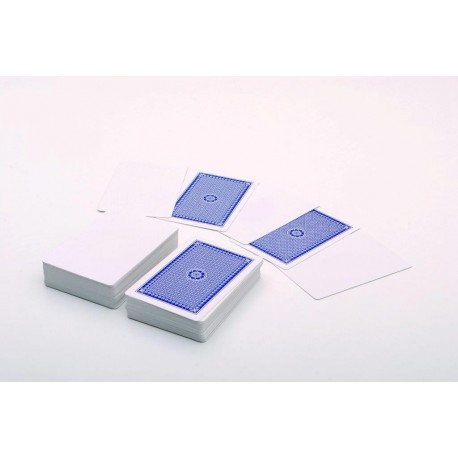 Set de 200 cartas con 1 cara en blanco