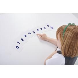 Set de 110 cartas con números del 0 al 10