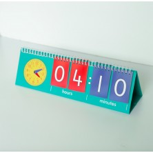 ¿Qué hora es? Flip Chart Reloj de Profesor