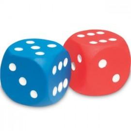 Dados con puntos (2 ud)