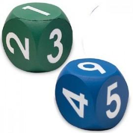 Dados con números (2 ud)