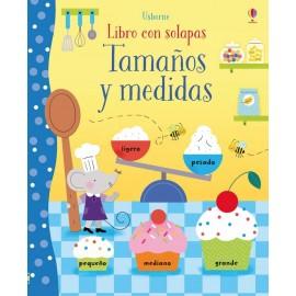 Tamaños y medidas (libro con solapas)