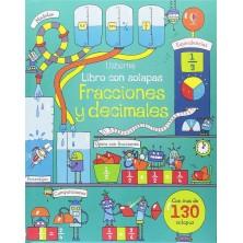 Fracciones y decimales (libro con solapas)