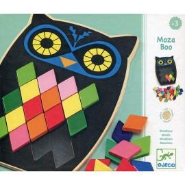 Mosaico búho Moza boo