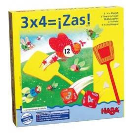 3 x 4 igual a ¡Zas!