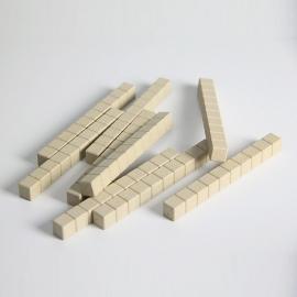 Decenas madera reciclada