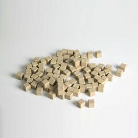 Regletas unidad de madera reciclada