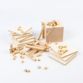 Material base 10 o multibase de madera