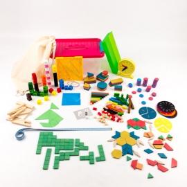 KAMP (6-12 años): Kit Individual Aprendiendo Matemáticas para Primaria