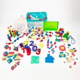 KAMI (3-6 años): Kit Individual Aprendiendo Matemáticas  para Infantil