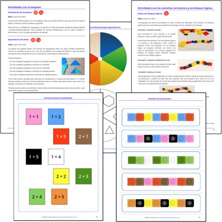 KAMI Guía del Kit Aprendiendo Matemáticas Individual para Infantil