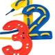 Set de números para coser (40 piezas)